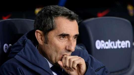 Valverde pode conquistar a Copa del Rey no sábado. AFP