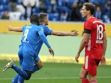 Bayern lost 4-1. AFP