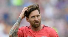 La diferencia con Messi y sin Messi. AFP