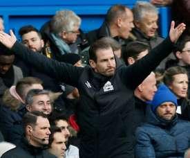 Jan Siewert quitte Huddersfield. AFP