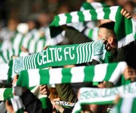 El Celtic volvió a llevarse el derbi. AFP