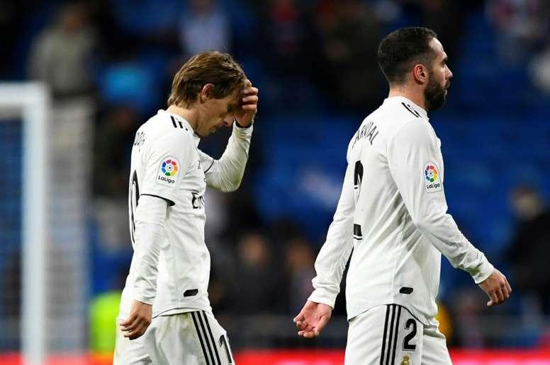 L'Inter maintient son intérêt pour Modric. EFE