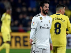 Isco has yet to play under Solari in La Liga. AFP