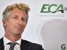 Van der Sar will be Ajax's CEO until at least 2023. AFP