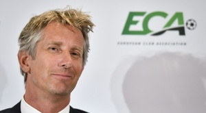 Van der Sar will be Ajax's CEO until at least 2023. AFP