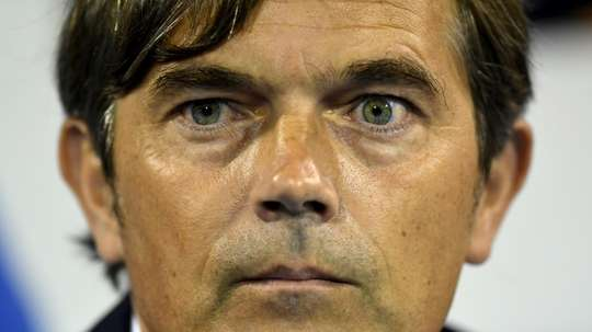 Phillip Cocu is taking on Derby County. AFP