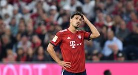 Hummels pourrait quitter le Bayern. AFP