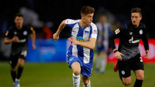 Piatek garante vitória do Hertha sobre o Augsburg. EFE
