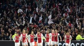 L'Ajax ne doit pas rater le train de la Champions League. AFP