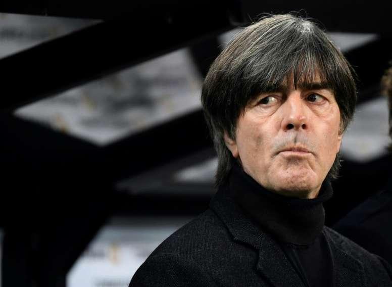 Löw acredita que Espanha é mais favorita que Alemanha para Euro 2020. AFP