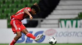 O City quer Coman como substituto de Sané. AFP