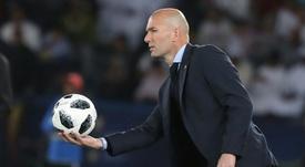 El técnico, contento con el partido de su equipo ante el Numancia. AFP