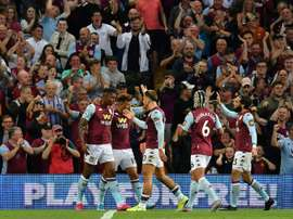 Wesley inspires Villa to end three-year wait for Premier League win