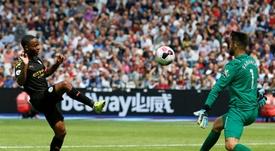 El West Ham no ha querido decepcionar a sus aficionados. AFP