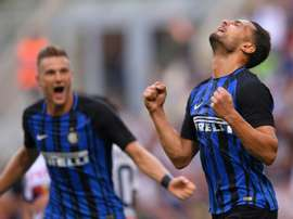 L'Italien va-t-il prolonger son aventure avec les 'Nerazzurri' ? AFP