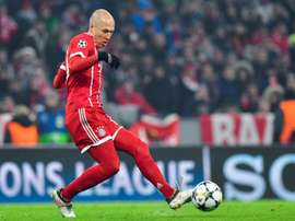 Robben devrait être aligné. AFP