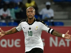 Andre Ayew is Ghana's new captain. AFP