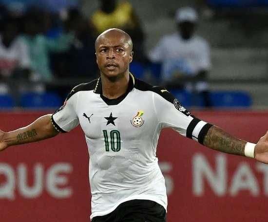 Tottenham cible André Ayew. AFP