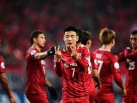 Le 'crack' du championnat chinois. AFP