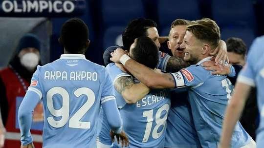 A 90th minute own goal gave Lazio a 2-1 win over Parma in the Coppa Italia. AFP