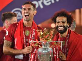Liverpool have three players who could be named player of the year. AFP