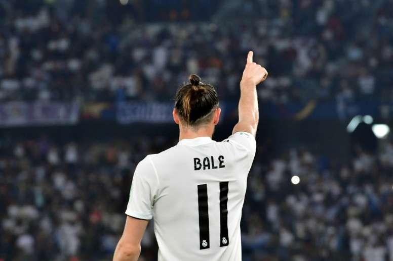 Bale podría acabar en la Liga China. AFP