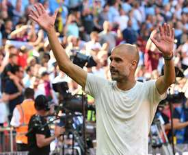 Guardiola believes City can still improve. AFP