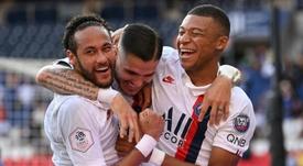 Icardi croit en la victoire en Ligue des champions. AFP