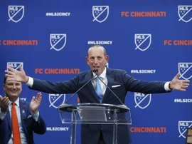 Garber celebrates 'most competitive' MLS campaign