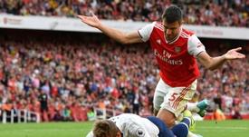 Les compos probables du match de Premier League entre Tottenham et Arsenal. AFP