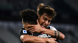 Dybala is Ronaldo's new partner. AFP