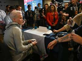 US star Rapinoe takes aim at FIFA over final clash. AFP