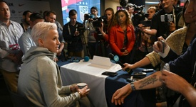 US star Rapinoe takes aim at FIFA over final clash. AFP