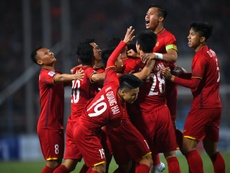 Vietnam claimed a narrow victory to take home the title. AFP