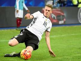 Ginter has swapped Dortmund for Moenchengladbach. AFP