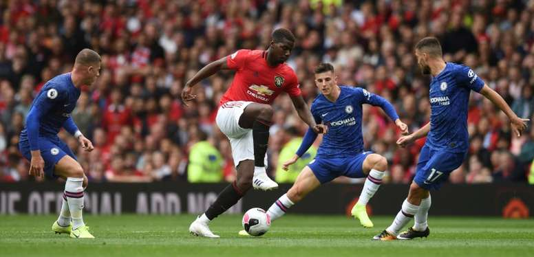 Media miscommunication for Pogba. AFP