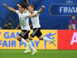 Stindl a manqué le but de la victoire. AFP
