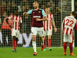 Carroll scored the equalising goal. AFP