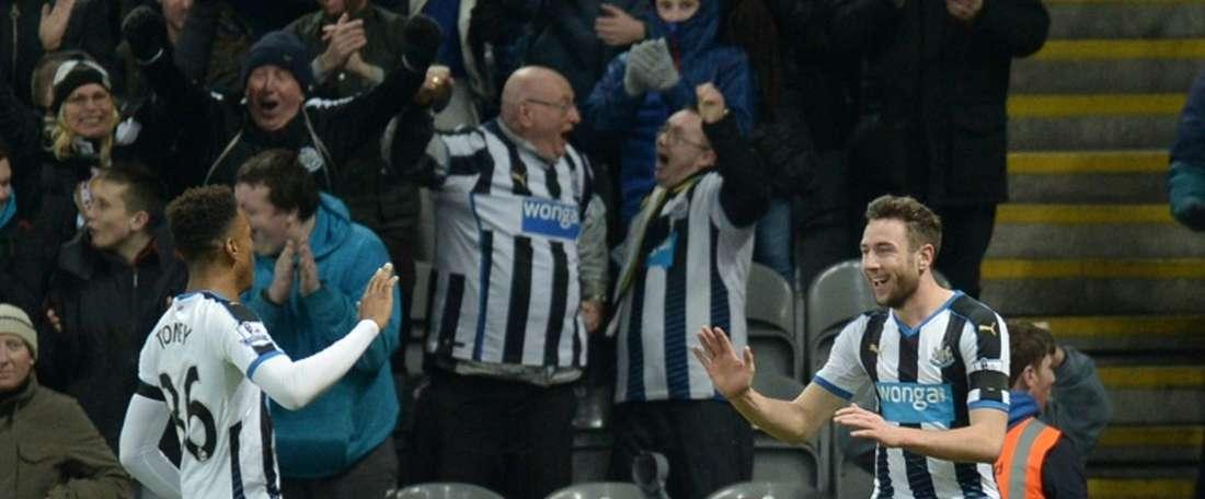 Benitez ne compte pas sur Ivan Toney. AFP