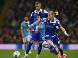Yarmolenko anotó un doblete que facilitó la victoria. AFP
