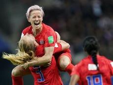 US women's national team files appeal after legal setback. AFP