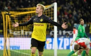 Dortmund hold off Slavia to reach Champions League last 16. AFP