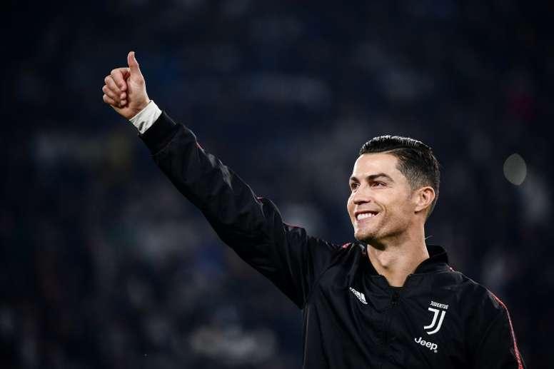 La familia de Ronaldo no lo entiende. AFP