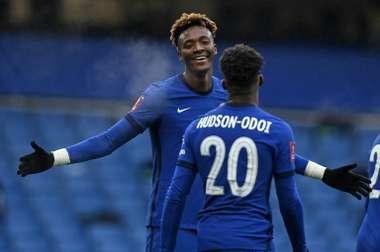 Chelsea en huitièmes de finale de FA Cup grâce à un triplé de Tammy Abraham. afp