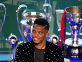 Eto'o has left Konyaspor after less than half a season. AFP