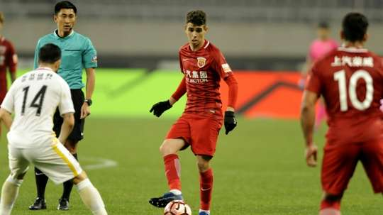 The Chinese football league has cracked down on club's spending. AFP
