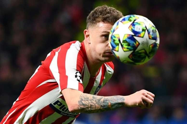 Trippier fue sancionado con diez semanas por la FA. AFP