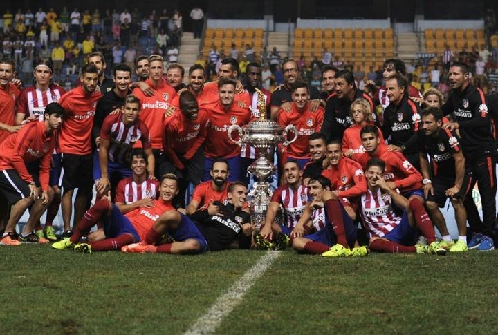 El Atlético de Madrid disputará el Trofeo Carranza ante el Cádiz. AFP