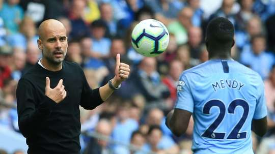 Mendy missed his club's match with Fulham due to a slight knee injury. AFP