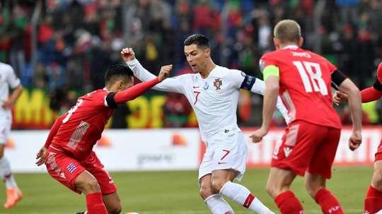 Portugal won 2-0. AFP